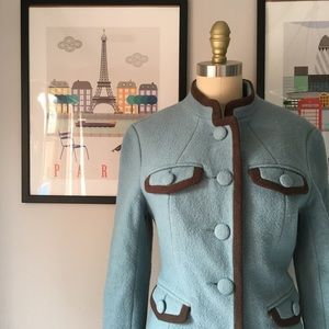 Boden • Felted Wool Military Coat